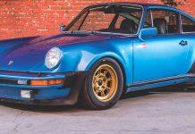 Ζάντες Campagnolo σε Porsche 911