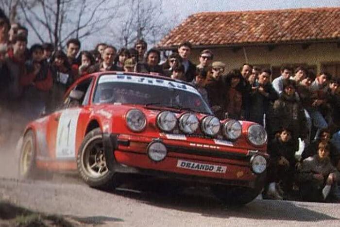 Ζάντες Campagnolo 40802 σε Porsche 911