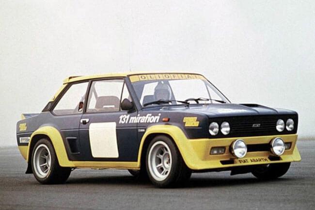 Ζάντες Campagnolo 40802 σε Fiat 131 Abarth