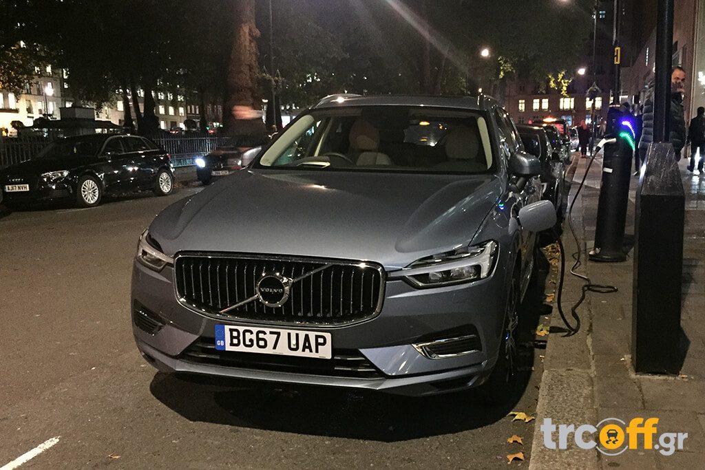 Ηλεκτροκίνηση - Volvo XC60 plug-in Hybrid