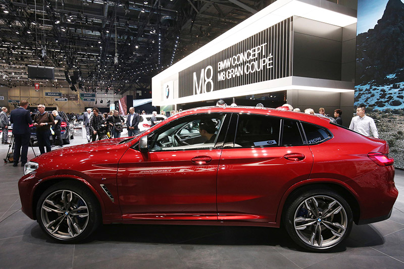 Geneva Motorshow 2018 - BMW X4