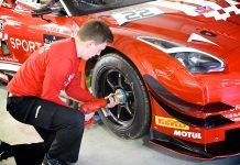 Nissan GT-R GT3 testing
