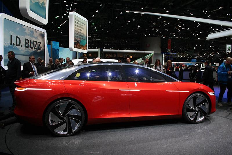 Geneva Motorshow 2018 - Volkswagen I.D. VIZZION
