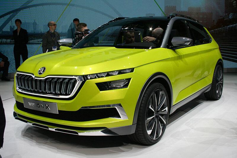 Geneva Motorshow 2018 - Skoda Vision X