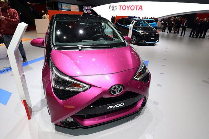 Geneva Motorshow 2018 - Toyota Aygo