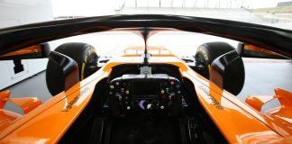 McLaren view with Halo