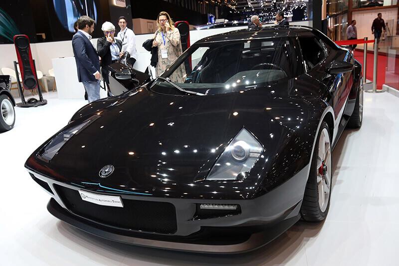 Geneva Motorshow 2018 - New Stratos