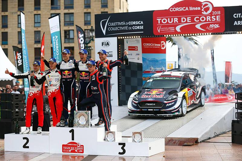 Tour De Corse 2018 winners