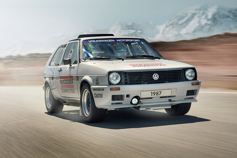 VW Golf GTI II Pikes Peak 1987