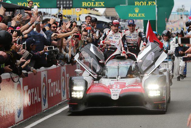 Toyota wins Le Mans 24h