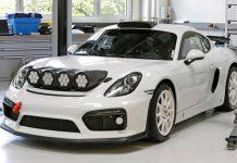 Porsche Cayman GT4 Clubsport Rallye
