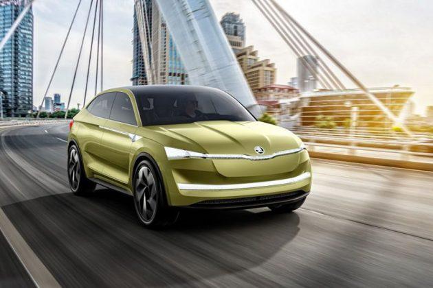 Skoda E-SUV 2020