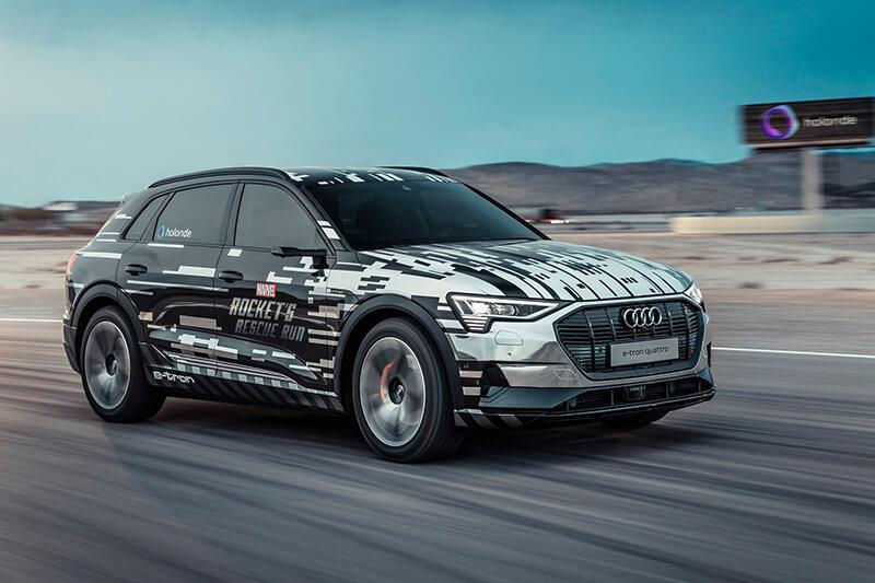 Audi e-tron CES