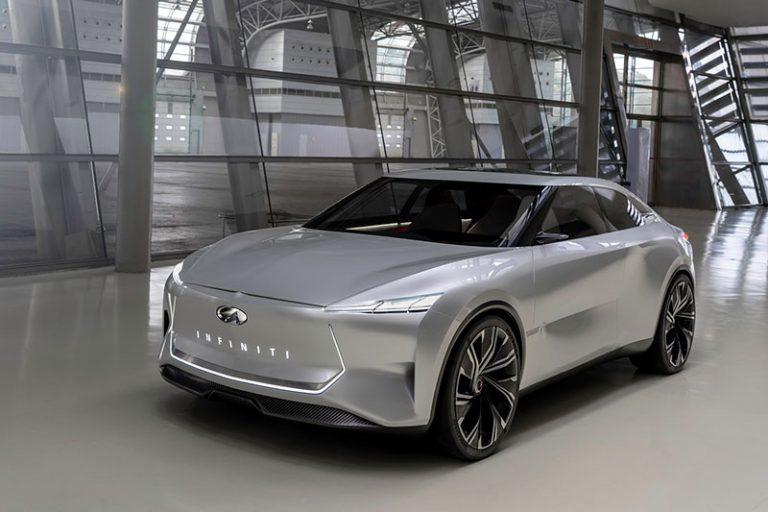 MotorSite - INFINITI Qs Inspiration electric sport sedan