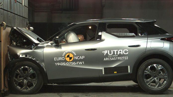 DS 3 Crossback Euro NCAP