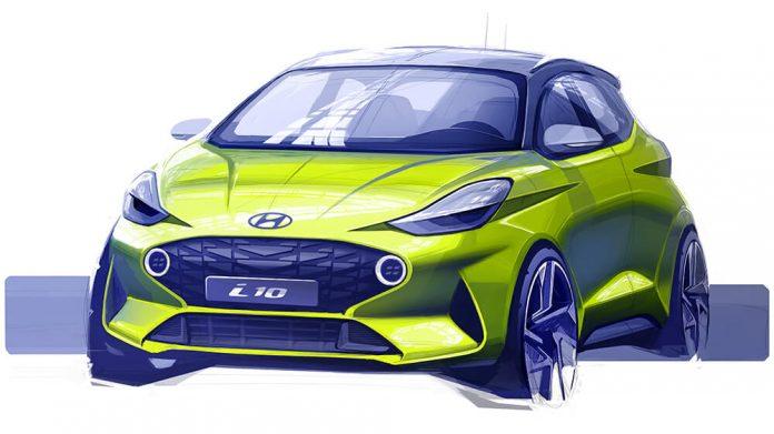 Hyundai i10 sketch