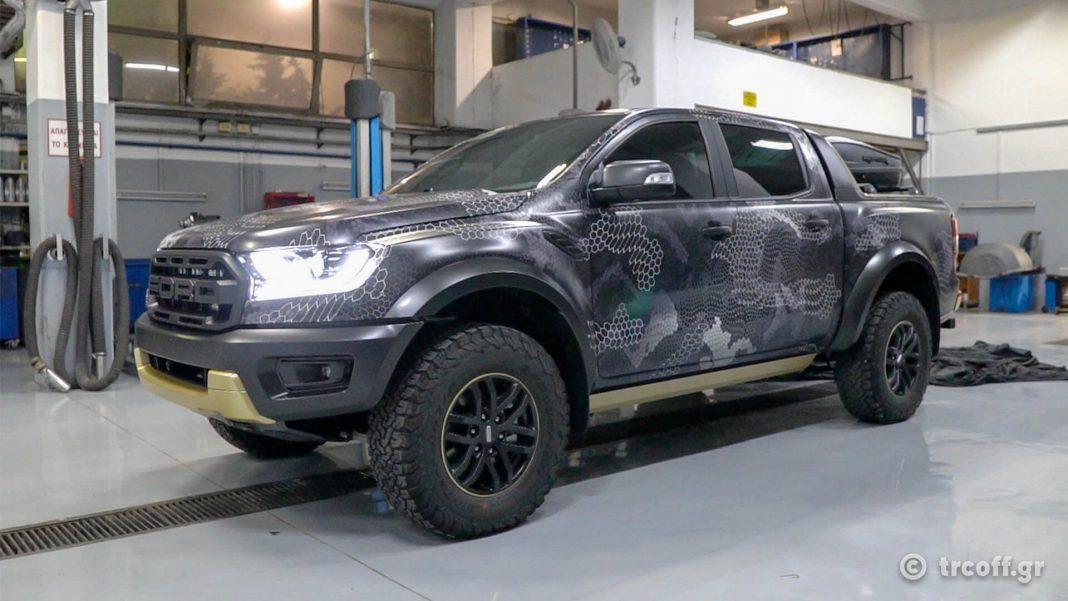 Ford Ranger Raptor Black Force